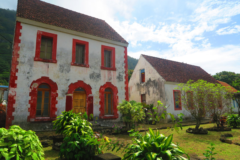 Bishops House - Rikitea Mangareva - Gambier Islands - French Polyensia
