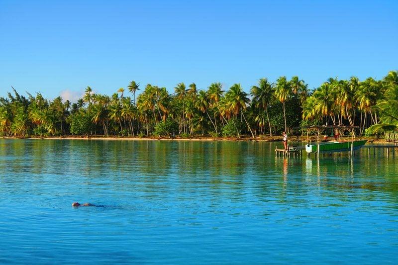 Fakarava Lagoon Pension veke veke French Polynesia