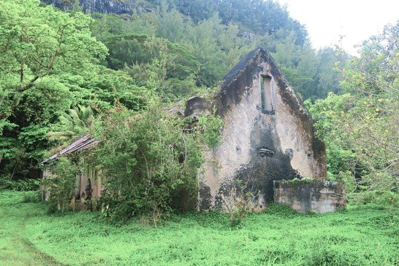 Rouru Convent - Rikitea Mangareva - Gambier Islands - French Polyensia