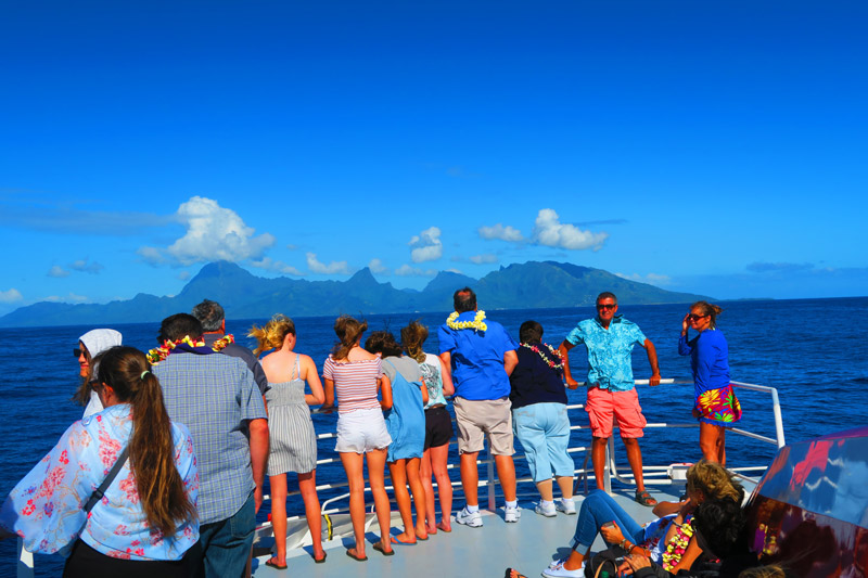 Tahiti Moorea ferry French Polynesia