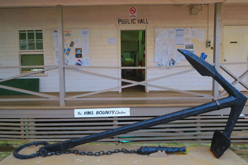 The Bounty Anchor - Adamstown - Pitcairn Island
