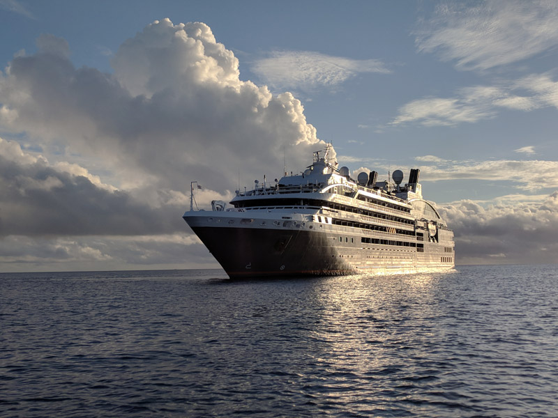 l'austral ponant cruise ship luxury