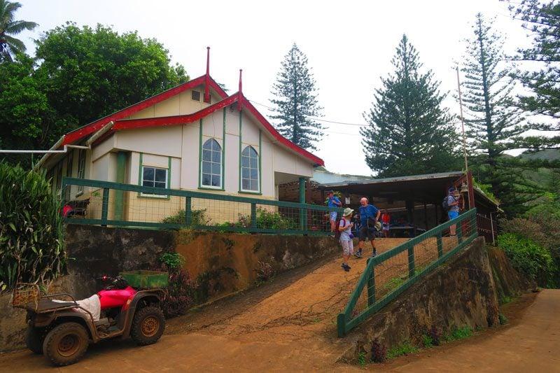 Adamstown Square Pitcairn Island