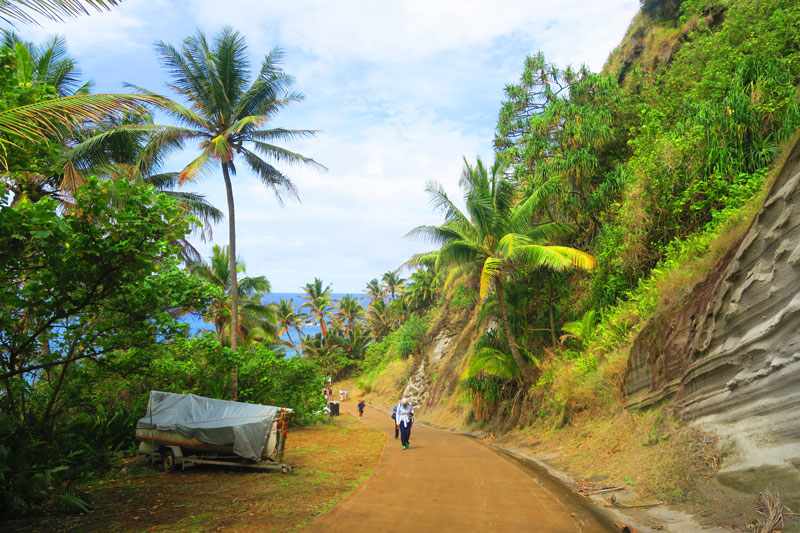 Hill of Difficulty Pitcairn Island