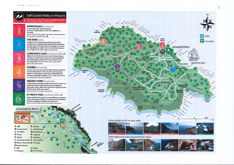 Map-of-Walking-and-Hiking-Trails-on-Pitcairn-Island