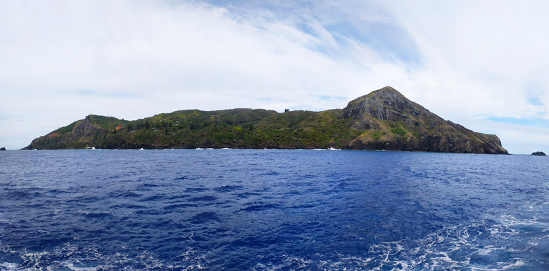 Pitcairn Island Panoramic View