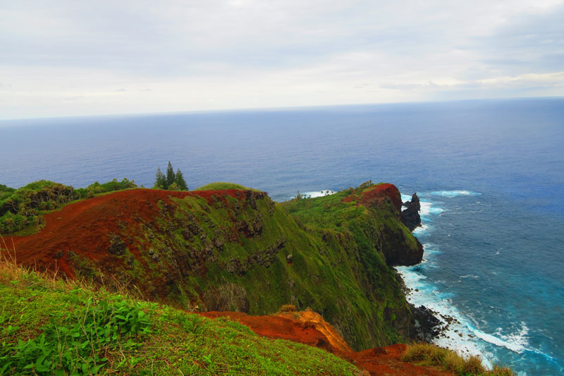 Ridge Rope Lookout Pitcairn Island 1