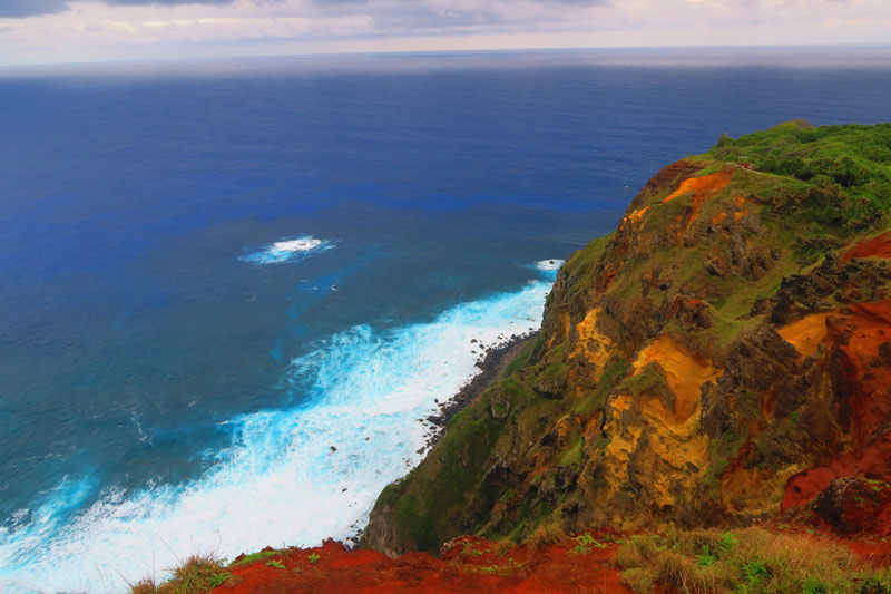 Ridge Rope Lookout Pitcairn Island 2