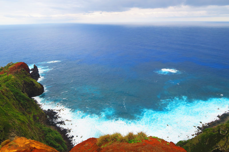 Ridge Rope Lookout Pitcairn Island 4