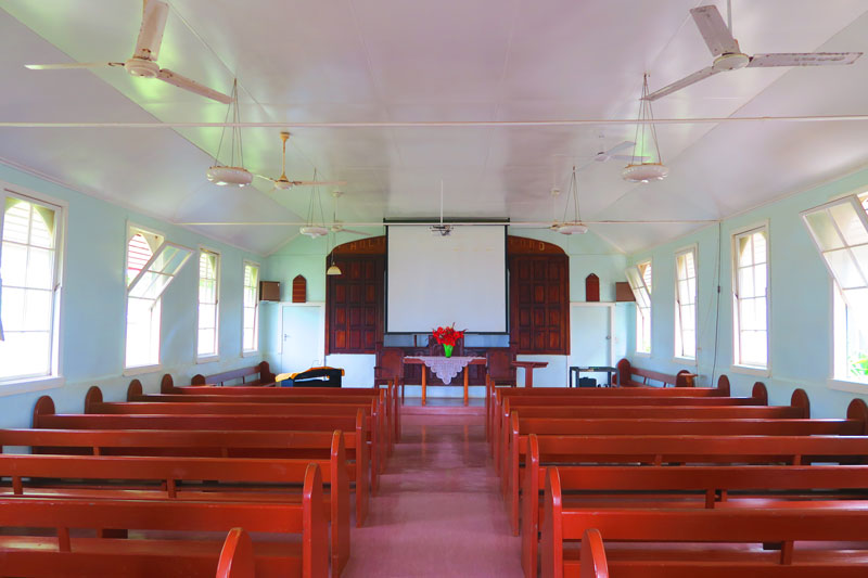 Seventh Day Adventist Church - Adamstown - Pitcairn Island