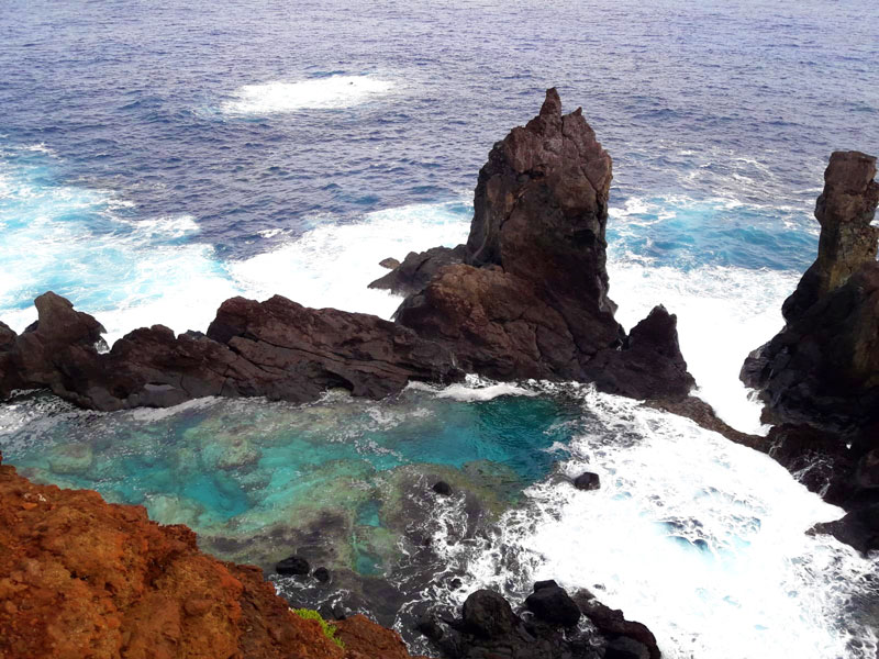 St Paul's Pool Pitcairn Island