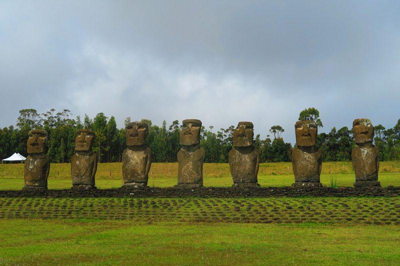 Ahu Akivi Easter Island