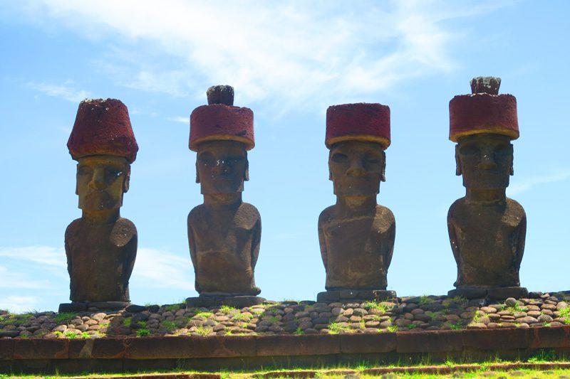Ahu Nau Nau Anakena Beach Easter Island 2