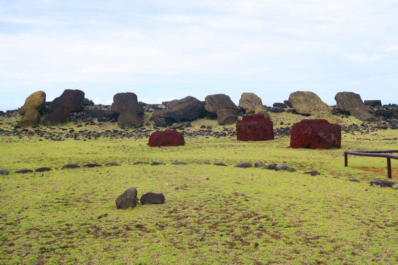 Ahu Vaihu Easter Island