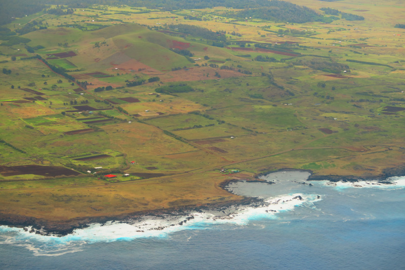 Easter Island from the air 3