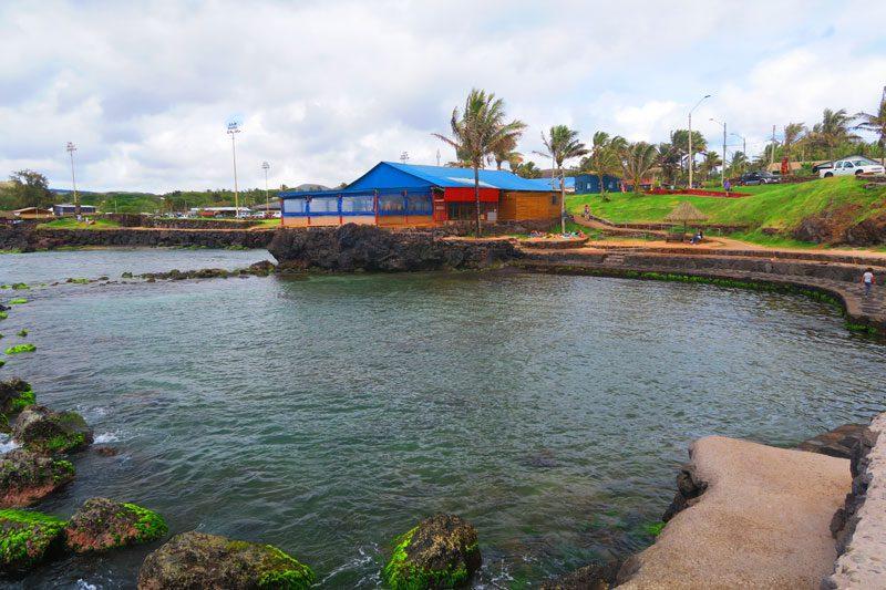 Pea Beach Easter Island