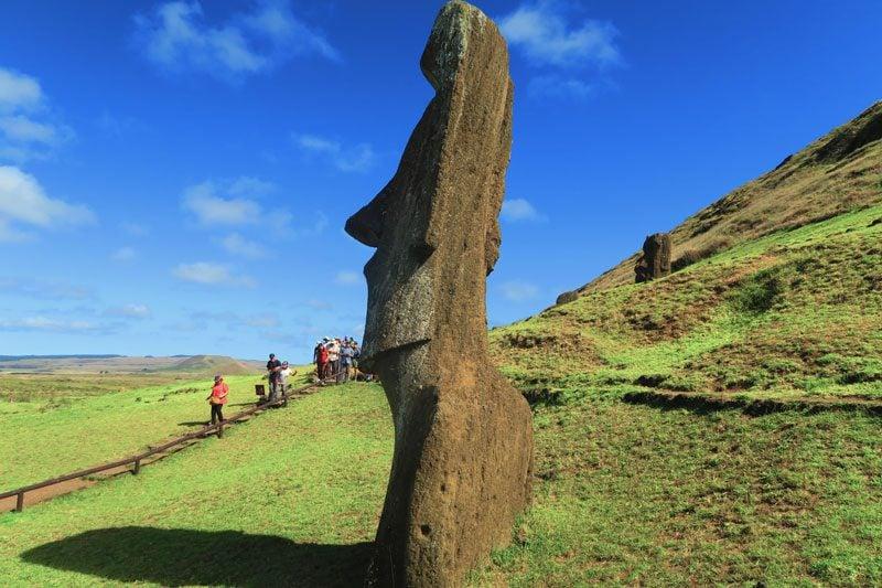 Piro Piro Moai Rano Raraku Easter Island