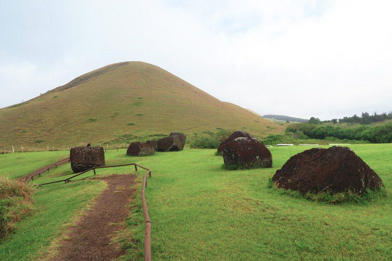 Puna Pau Easter Island