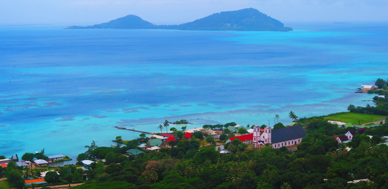 Gambier Islands Travel Guide - Rikitea panoramic view - French Polynesia