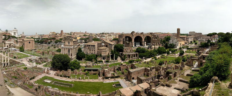 5 Days in Rome - Ancient Rome - panoramic view