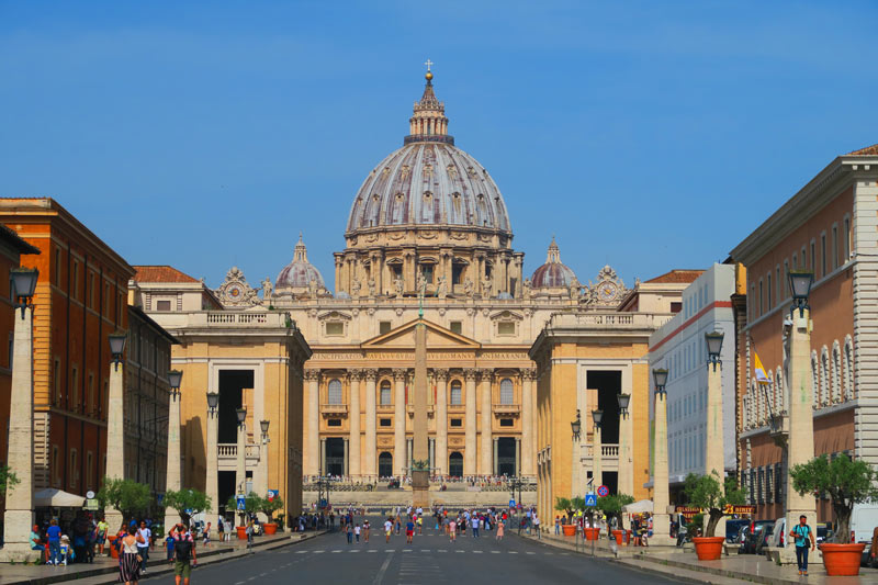 Approaching St. Peter's Square - Rome