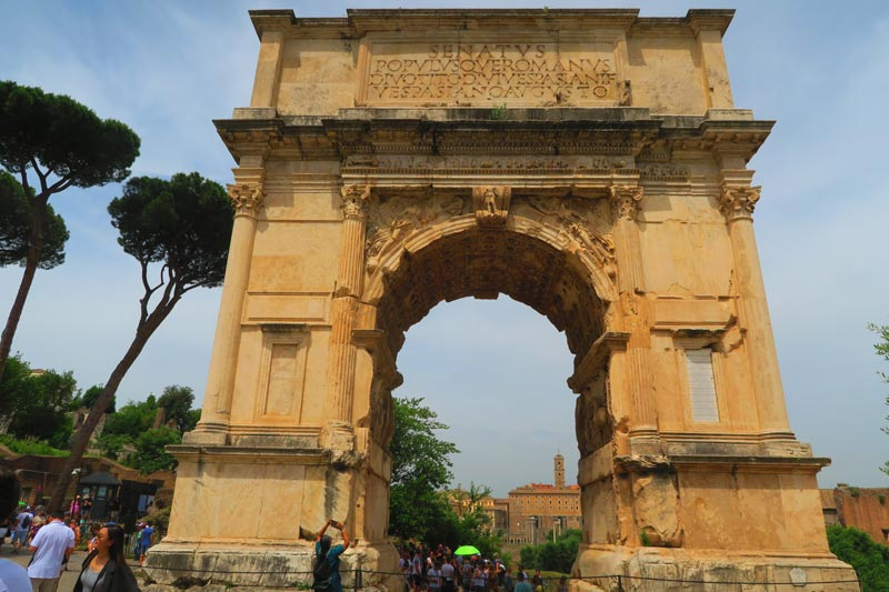 Arch of Titus - Roman Forum -Rome