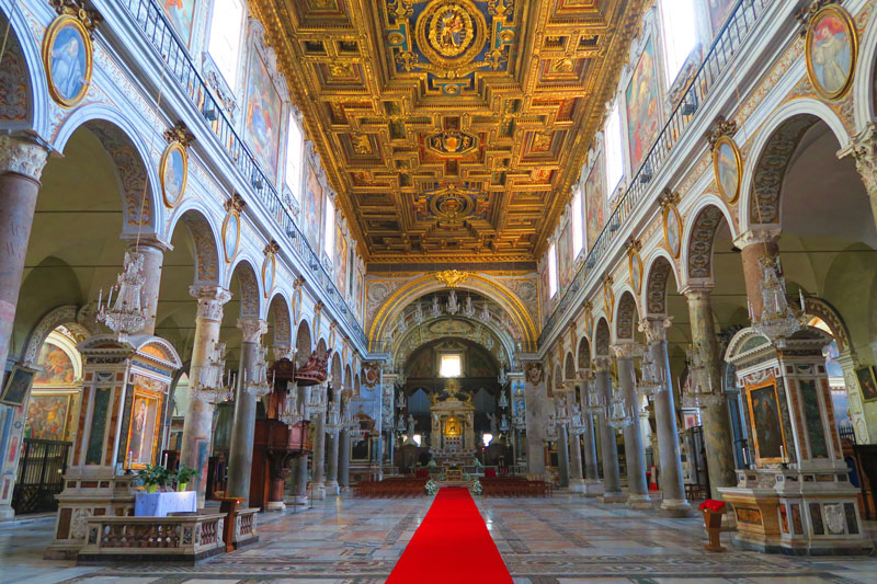 Basilica di Santa Maria in Aracoeli- Rome Church 1