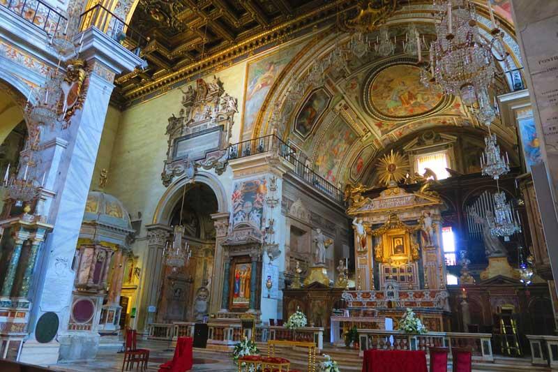 Basilica di Santa Maria in Aracoeli- Rome Church 5