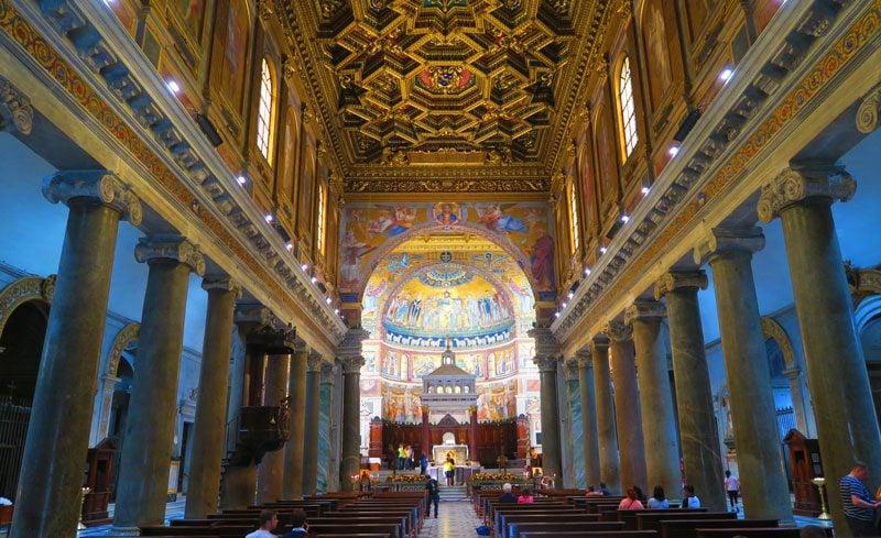 Basilica di Santa Maria in Trastevere - Rome church