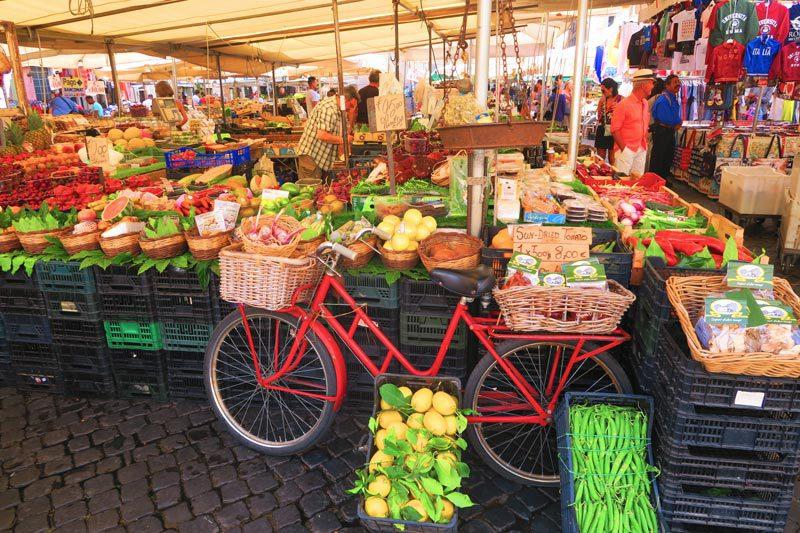 Campo de Fiori Market - Rome