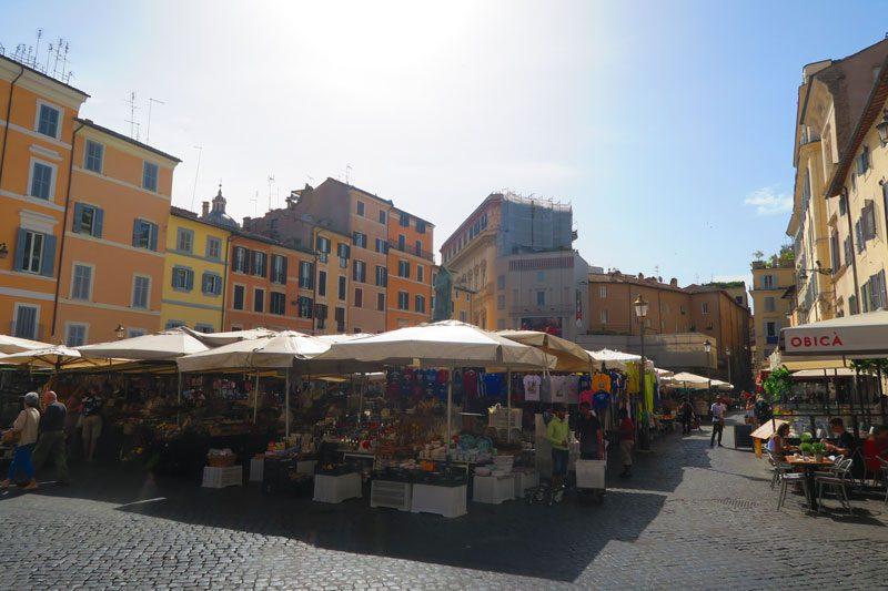 Campo de Fiori MarketSquare - Rome