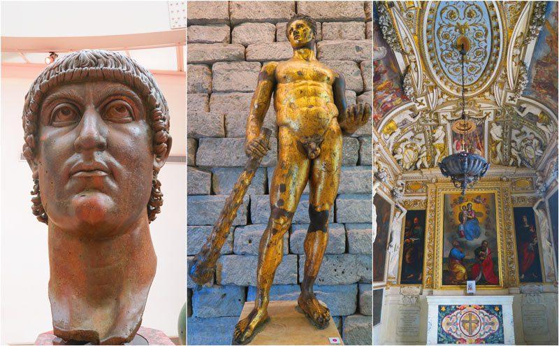 Capitoline Museums Rome - bronze sculptures