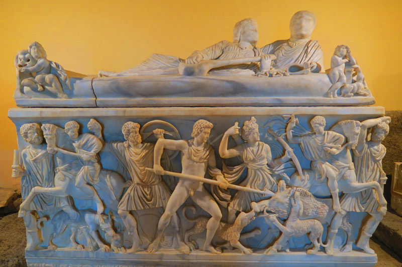 Capitoline Museums Rome - sarcophagus 2