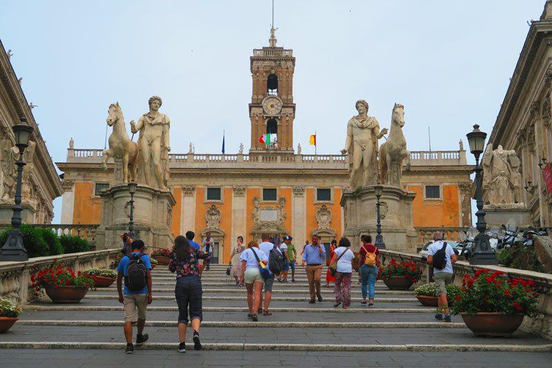 Cordonata Capitolina - Rome