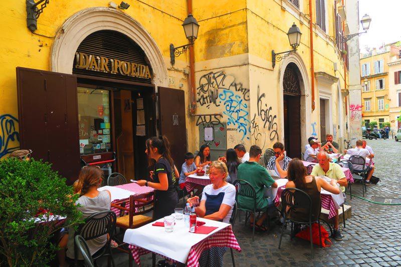 Dar Poeta - Trastevere Pizzeria Rome