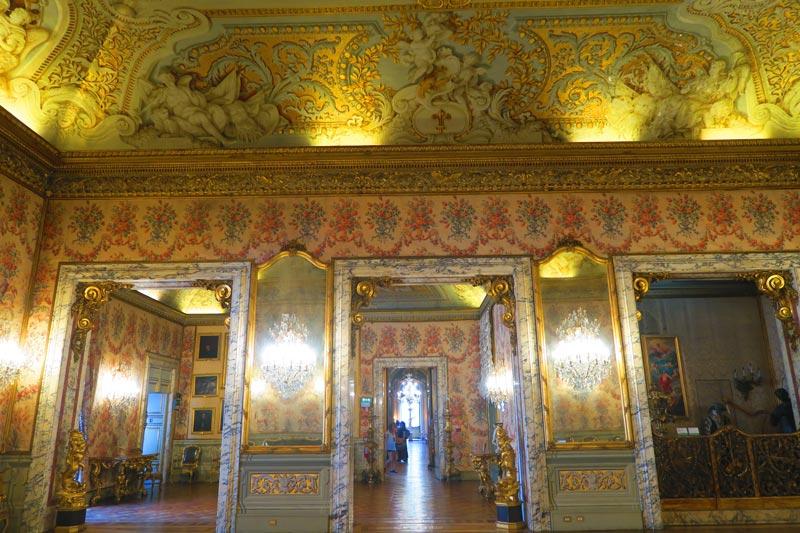 Doria Pamphilj Gallery- Rome museum - ballroom