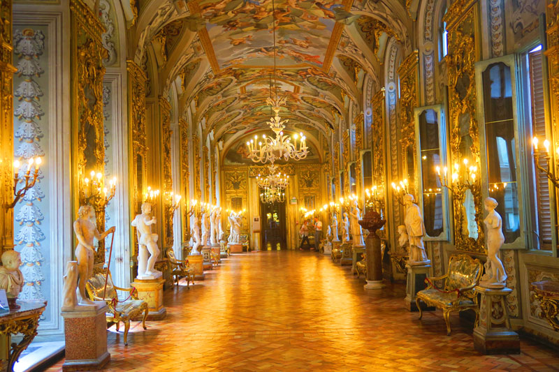 Doria Pamphilj Gallery- Rome museum - grand hall