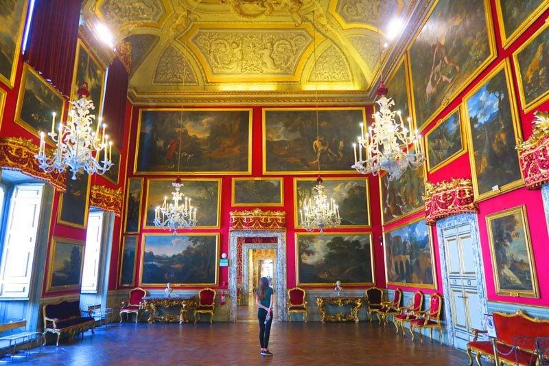Doria Pamphilj Gallery- Rome museum - reception hall