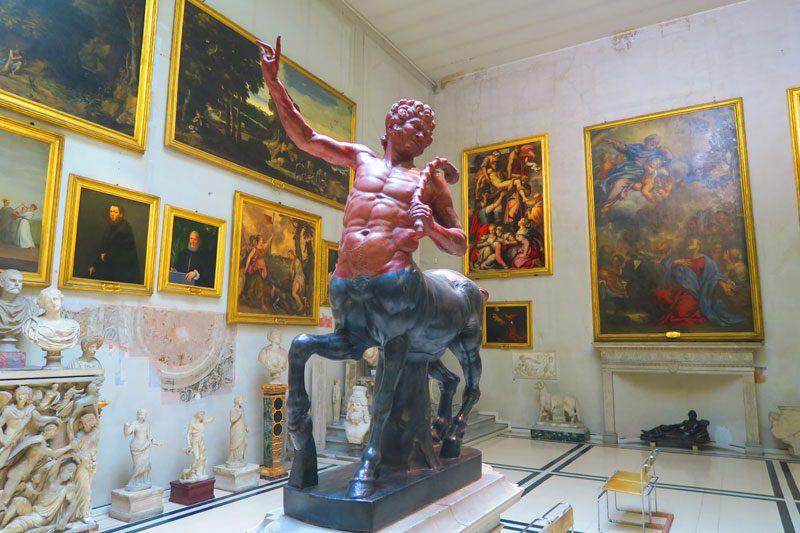 Doria Pamphilj Gallery- Rome museum - sculpture gallery