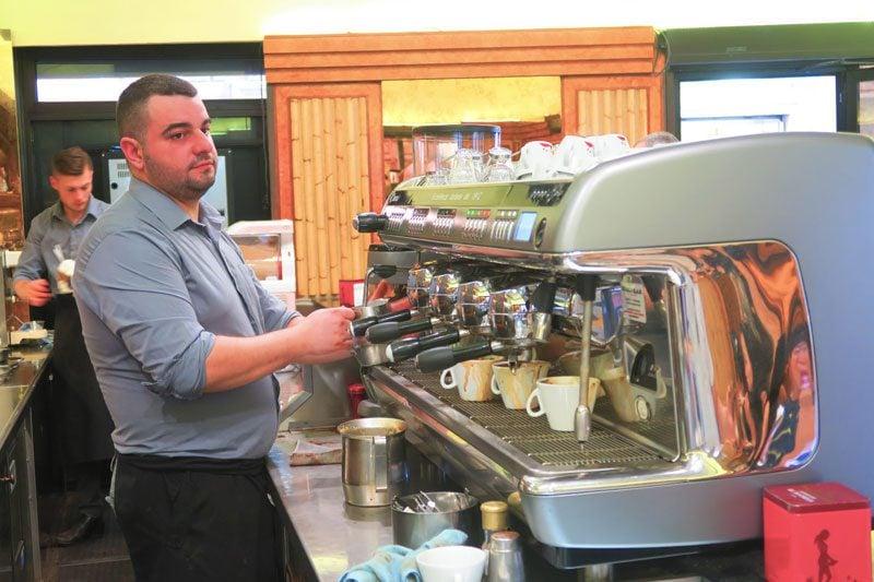 Famous Rome cafe - La Casa Del Caffè Tazza D'oro