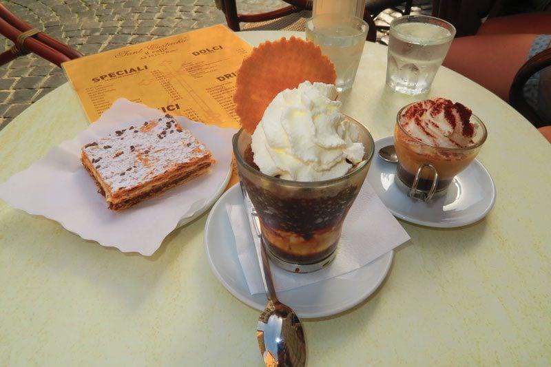 Famous Rome cafe - Sant' Eustachio Il Caffè
