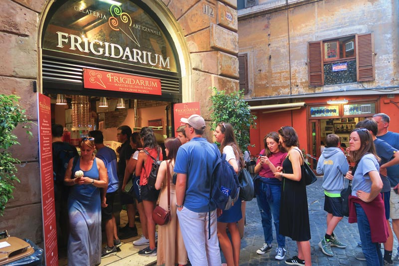Gelateria Frigidarium - best rome ice cream