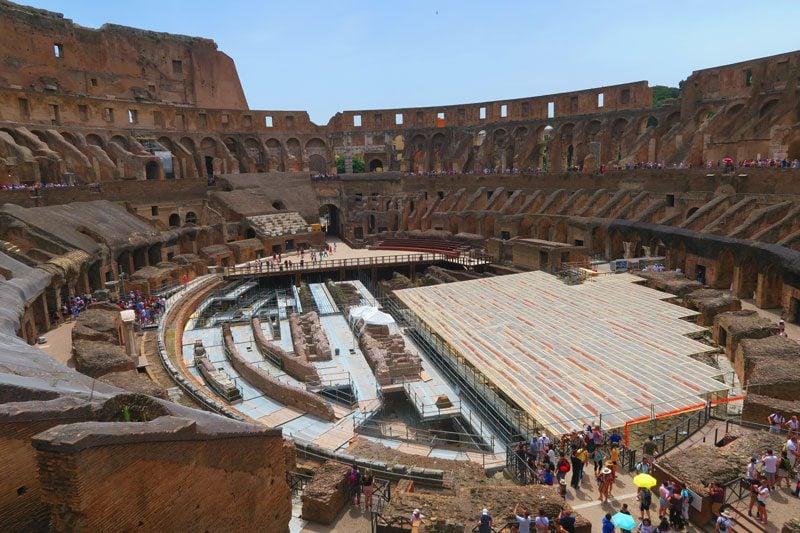 Inside the The Colosseum - Rome