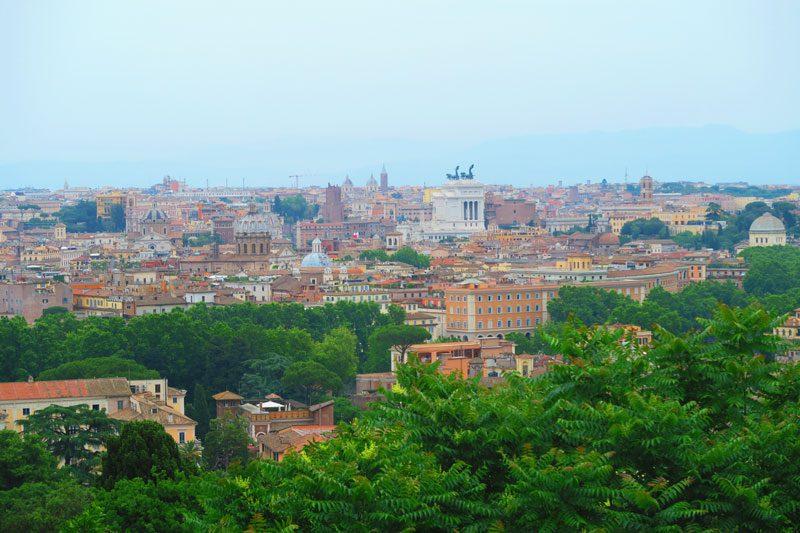 Janiculum Terrace- Rome panoramic lookout