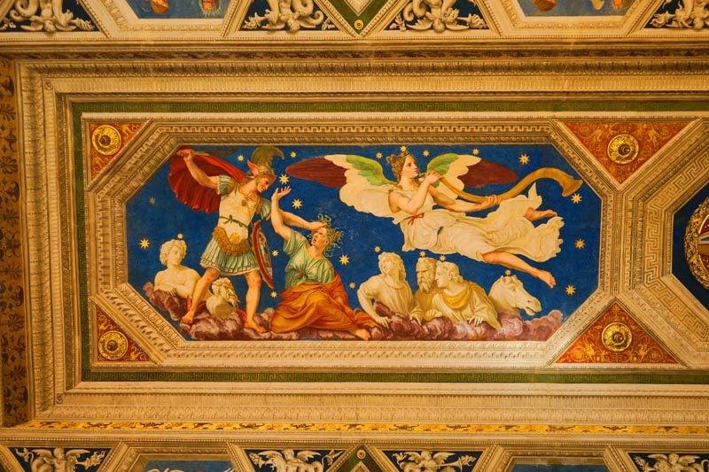 Loggia of Galatea - Villa Farnesina Rome Museum