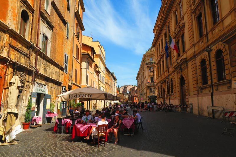 Old Jewish ghetto - Rome