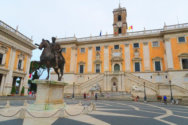 Piazza del Campidoglio - Rome