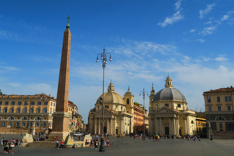 Piazza del Popolo- Rome