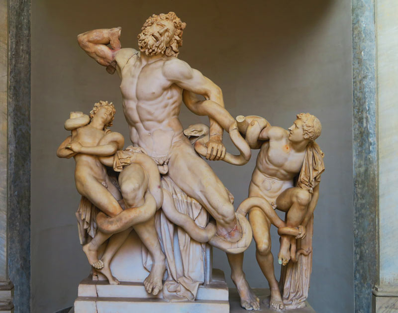 Pio-Clementino Museum - Vatican Museum - Rome - hercules