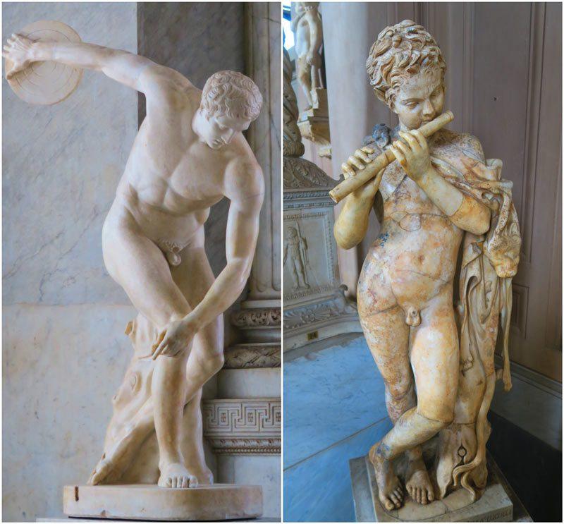 Pio-Clementino Museum - Vatican Museum - Rome - marble sculptures